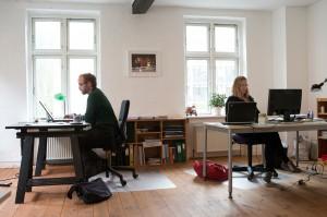 Kristian og Birgitte udgør Redaktionens nordlige flanke.